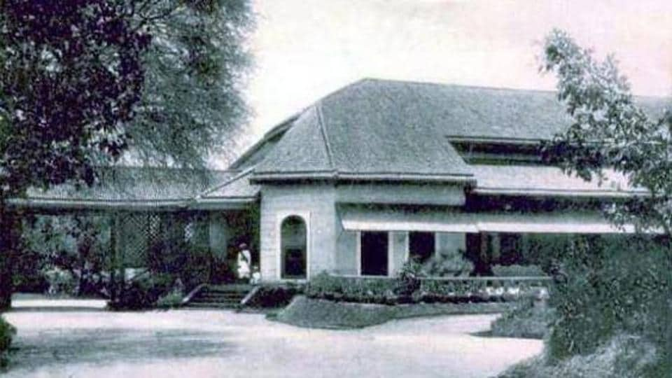 One of the oldest pictures of Poona Club from the 1960s. (HT PHOTO)