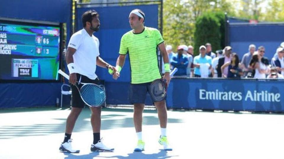 Leander Paes and Purav Raja won the Knoxville Challenger title.