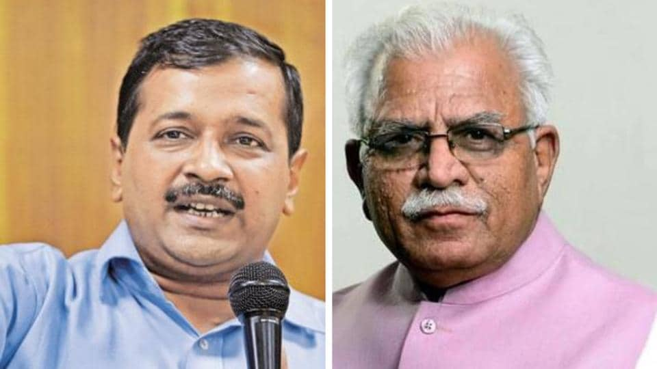 After Amarinder Singh, Haryana CM hits out at Kejriwal over stubble burning