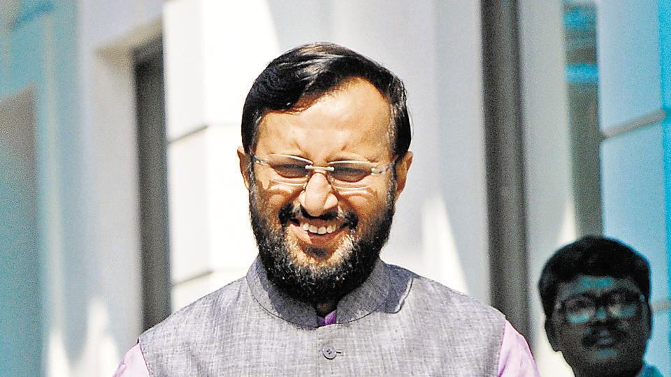 The Human Resource Development (HRD) minister has said that the first draft of the new National Education Policy will come out by the end of December
