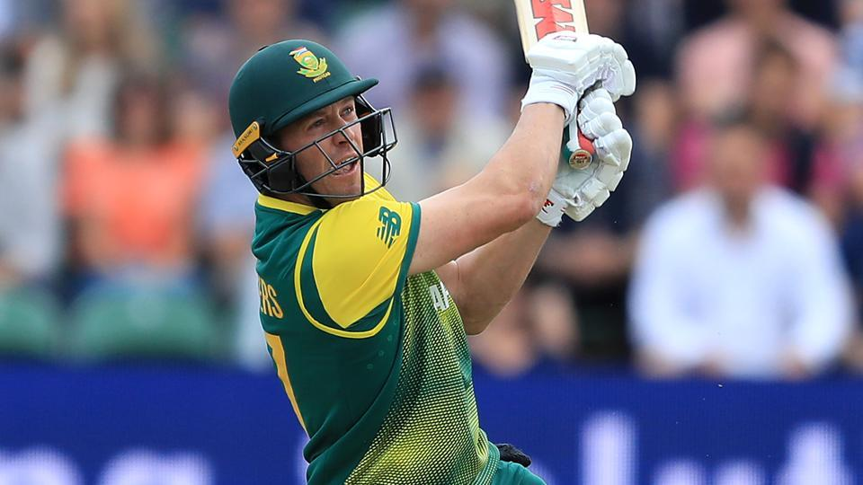 AB de Villiers blasted a 19-ball unbeaten fifty as the former South Africa skipper helped his team, Multiply Titans to a big win over Highveld Lions in the Ram Slam Twenty20 competition.