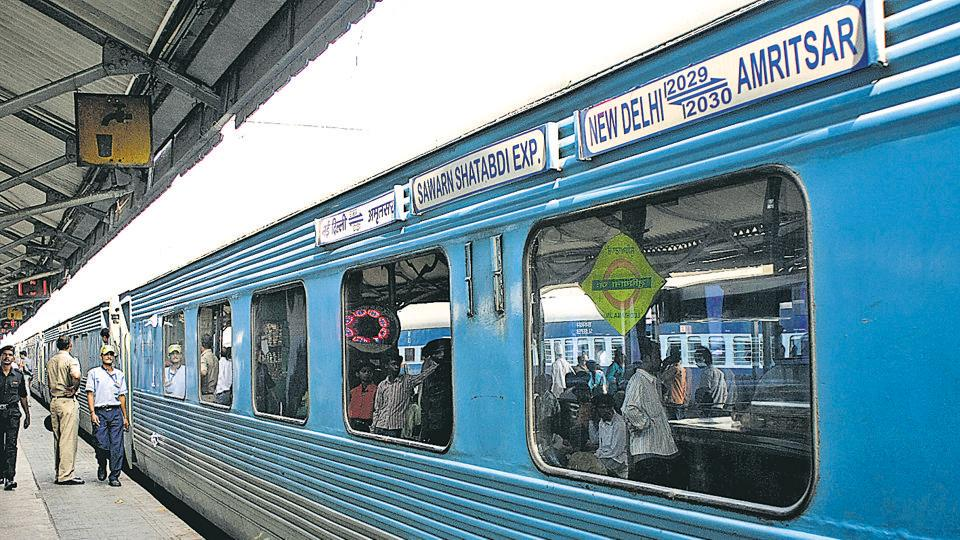 As many as 24 trains were delayed on Monday, leaving the passengers stranded at the Chandigarh railway station.