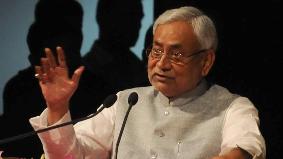 Bihar chief minister Nitish Kumar during the inauguration of 'Bihar third Agriculture Roadmap' in Patna on November 9, 2017.