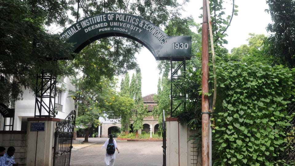 Gokhale Institute of Politics & Economics is among the seven Pune's institutes directed by UGCto not use the term 'university' in their official names.