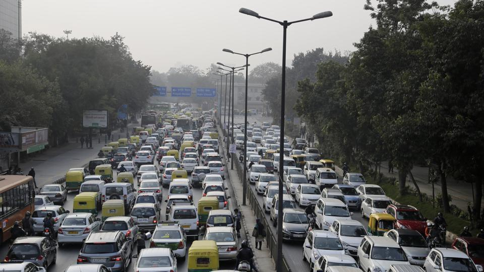 air pollution,traffic jam,FasTag