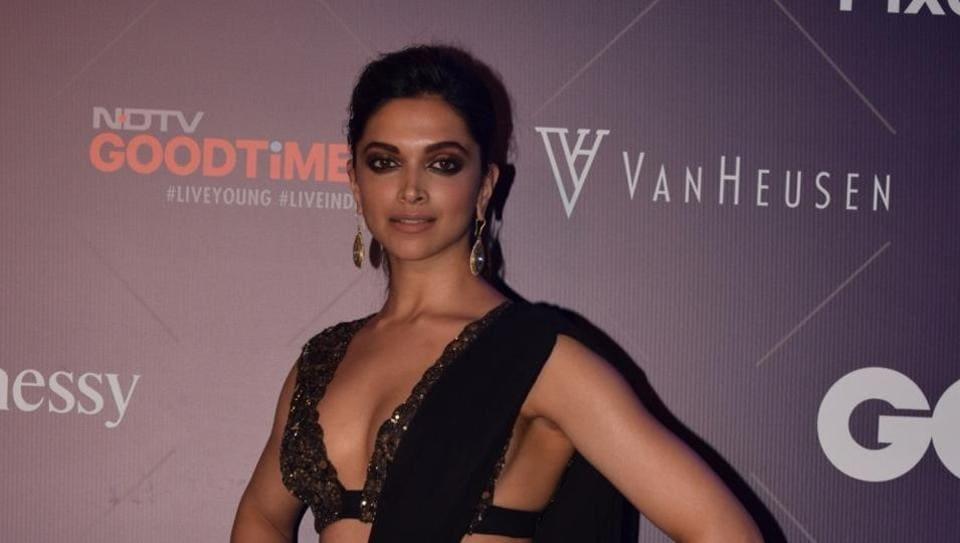 Deepika Padukone,GQ Fashion Nights,Padmavati