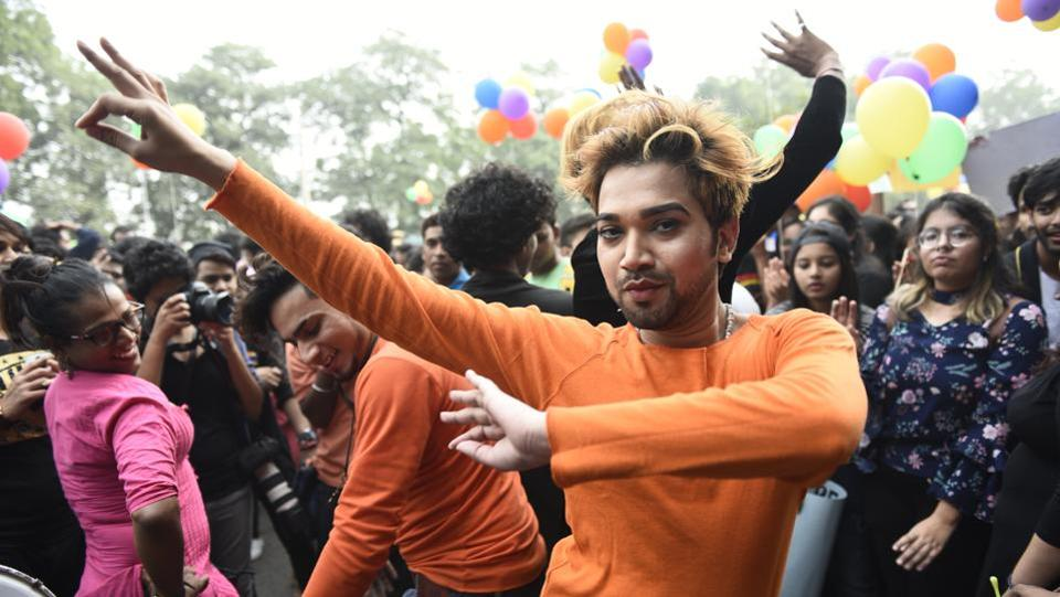 Over the past decade, homosexuality has gained some degree of acceptance in India, especially in metro cities. Many bars have gay nights, and some  Bollywood films have also dealt with gay rights issues. (Sanchit Khanna / HT PHOTO)