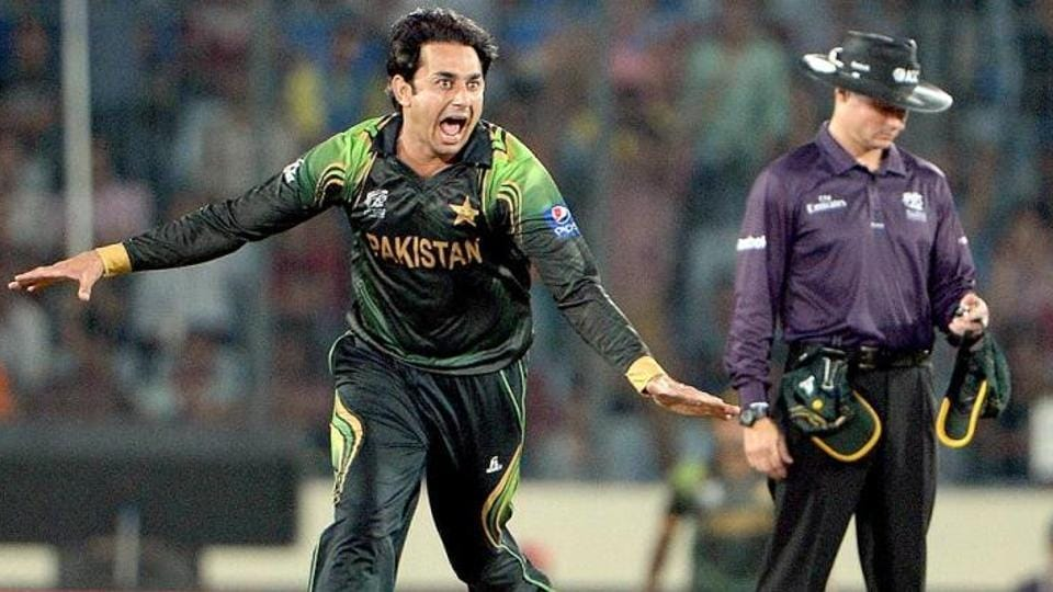 Pakistan's Saeed Ajmal was suspended for illegal bowling action in 2014.