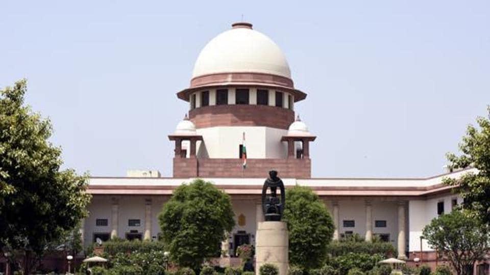 A view of Supreme Court in New Delhi.
