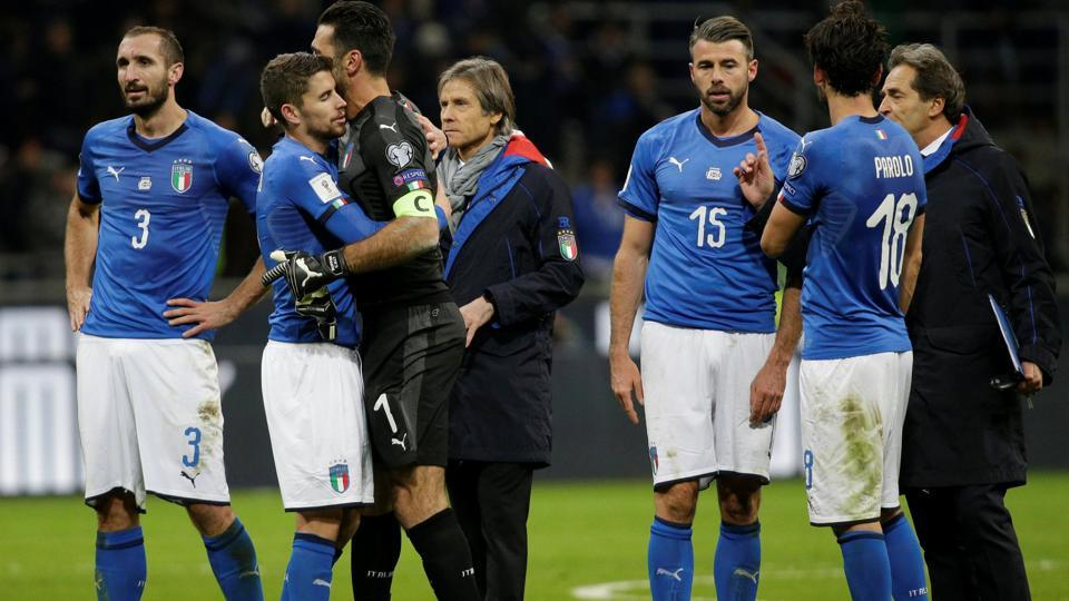 The last major competitions Italy failed to qualify for were the 1984 and 1992 European Championships. (REUTERS)