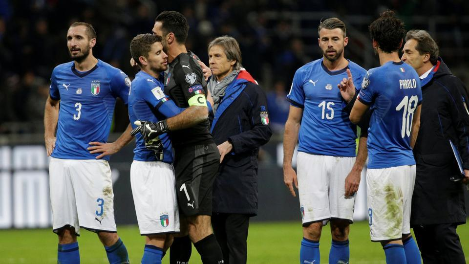Italy failed to enter the FIFA World Cup for the first time since 1958 as the team were held to a 0-0 draw by Sweden in the 2018 World Cup qualifying game.