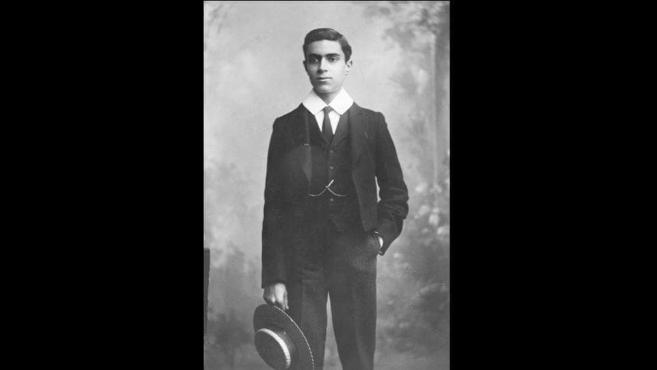 Pandit Jawaharlal Nehru in his Harrow school uniform, 1906. Nehru grew up a nationalist, inspired by the Russo-Japanese war and revolutionary hero Garibaldi during his time in Harrow. 40 years later on the midnight of August 15 1947,  Nehru realised the idea of revolution when he greeted the nation with his 'Tryst with destiny' speech as India broke from the subjugation of British colonial rule. (Hulton Archive / Getty Images)