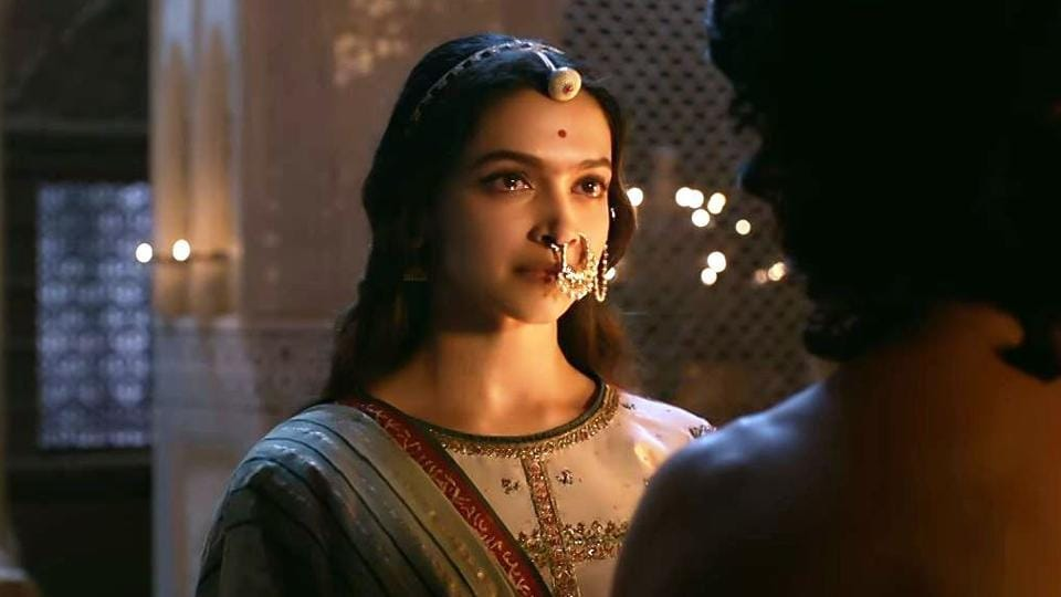 Deepika Padukone plays Rani Padmavati in the film.