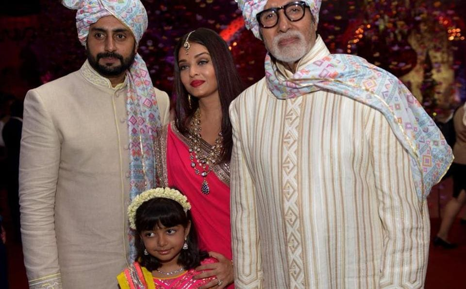 The Bachchan Family Attended A Wedding In Mumbai Over Weekend