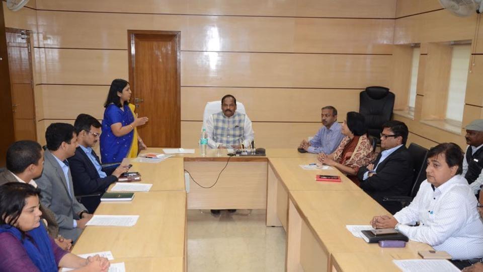 HRMS,AG Office,Raghubar Das