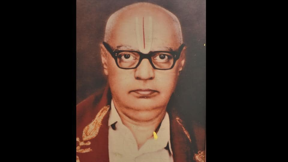 The newspaper was started by Varadaraja Iyenger, in the halls of the Maharaja Samskrit College built by the Wodeyar dynasty. The impulse that drove Iyengar to run a newspaper, say people who knew him, was the same that made him start his printing business: an ancient language had been neglected, and he would right that wrong. The paper, even now, is run on those sentiments. (Arijit Sen / HT Photo)