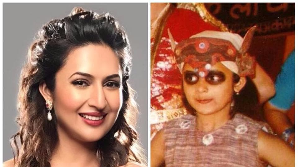 Actor Divyanka Tripathi looks so cute in this throwback picture.