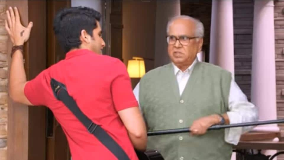 A still from Manam that was shot at the Annapurna Studio.