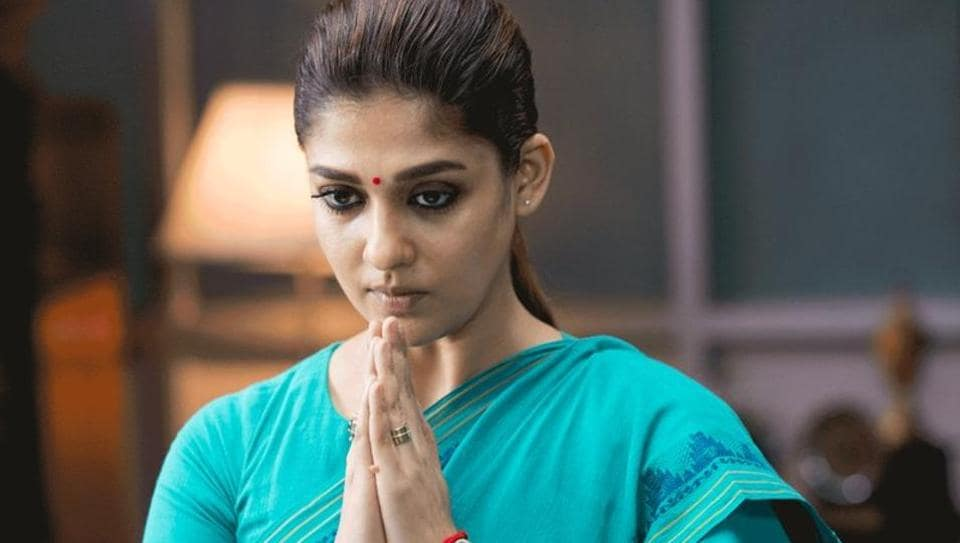 Nayanthara plays a tough district collector in latest Tamil release Aramm.