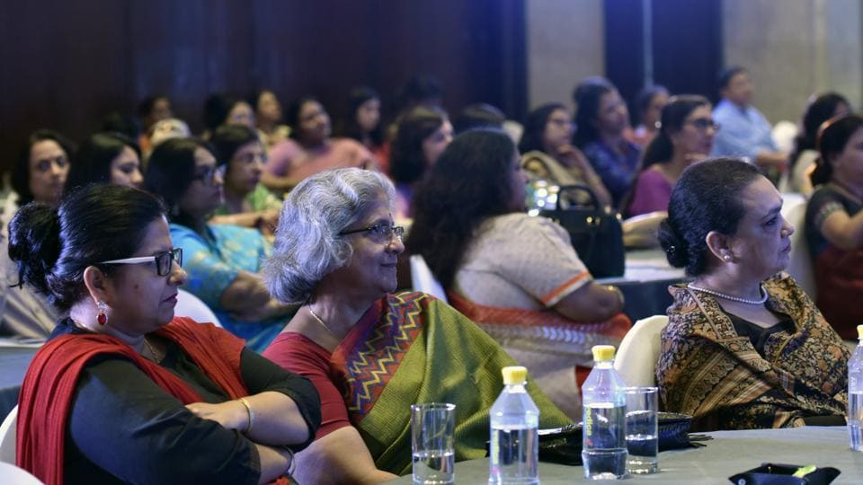 School principals and academicians at the event that marked the culmination of the ninth edition of HT Top Schools Survey, an annual initiative that recognises the best schools in the city and suburbs.