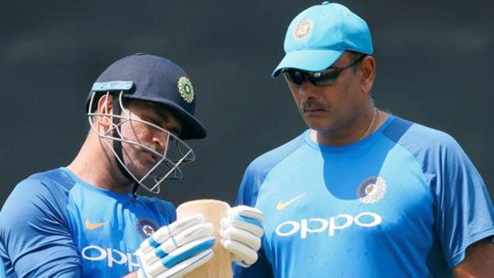 India vs Sri Lanka,Ravi Shastri,MS Dhoni