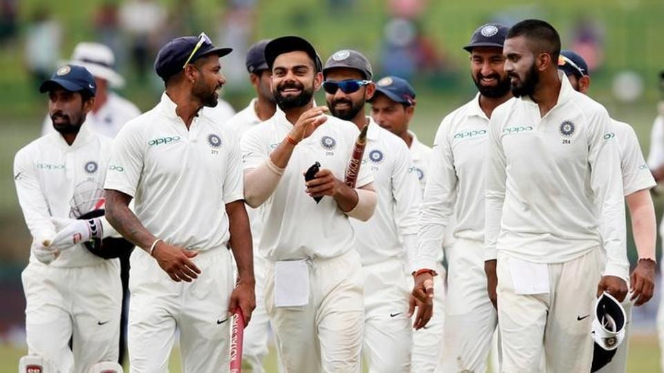 The Indian cricket team will take on Sri Lanka in three Test matches at home.