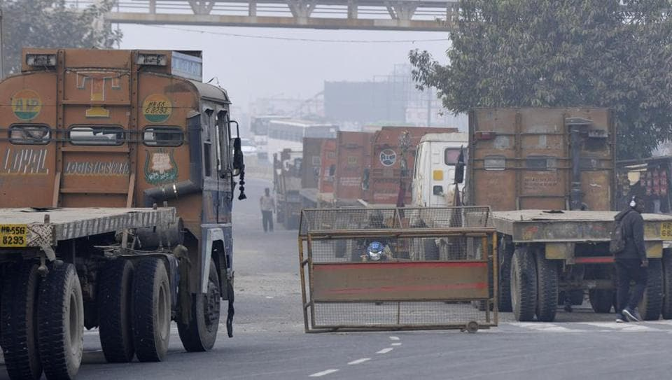 "The civic agency allowed free entry to trucks and didn't even charge the environment compensation charges (ECC) from heavy goods vehicles,"" said KK Dahiya, special commissioner (transport)."