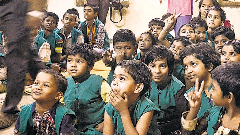 Waiting eagerly for this year's Children's Day, these 70 odd-children of the shelter have left their pasts to embrace a better future.