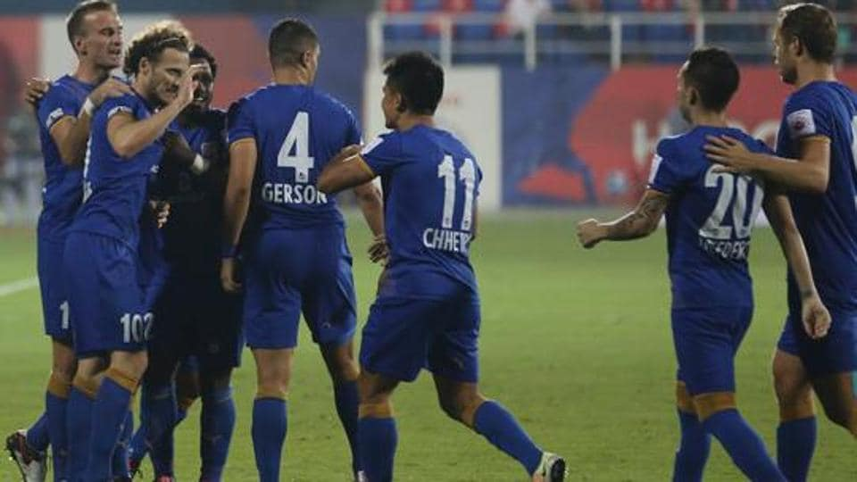 Mumbai City FC reached the semi-finals of the Indian Super League last year.
