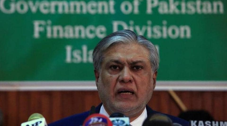 Pakistan's finance minister Ishaq Dar is receiving medical treatment in London and faces arrest upon his return to Pakistan. (REUTERS file photo)