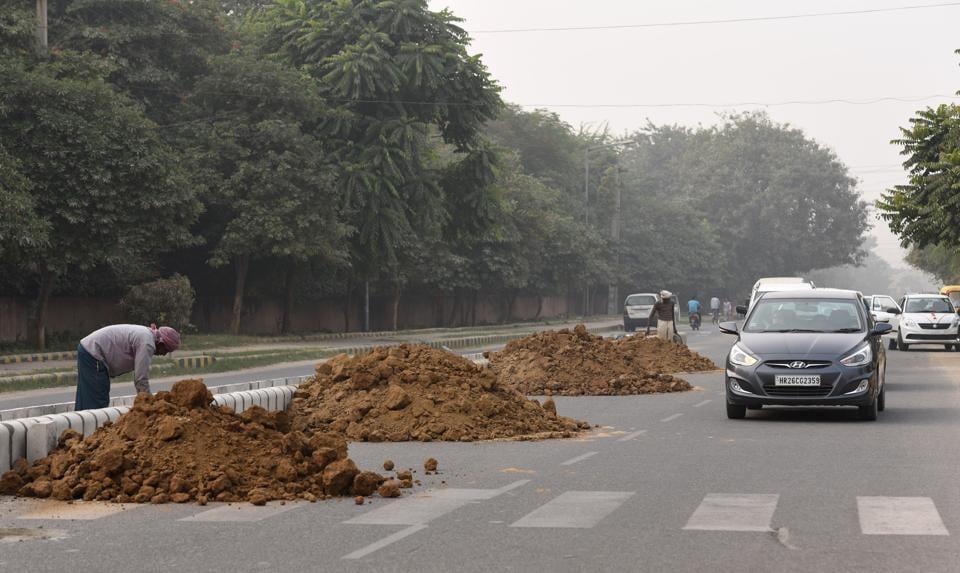 Poor air quality,AQI,Gurgaon