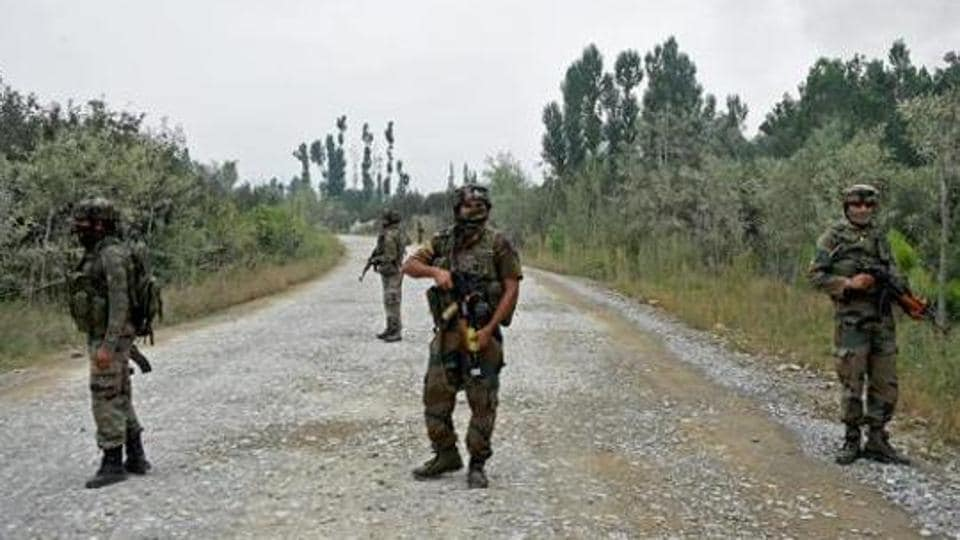 Fierce encounter with terrorists on in J&K's Kulgam and Pulwama districts