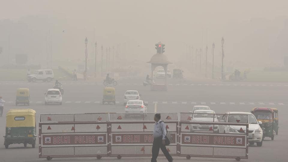 The Delhi-NCR region has been enveloped in smog since last week.