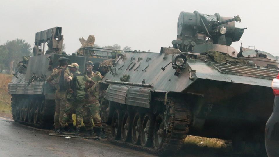 Zimbabwe,military threat in Zimbabwe,President Robert Mugabe