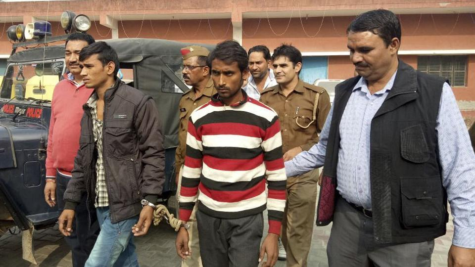 The duo was produced at the district court in Surajpur and sent to jail.