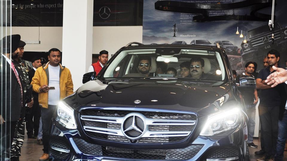 Uttarakhand,Suresh Raina,Mercedes-Benz GLE 350 D