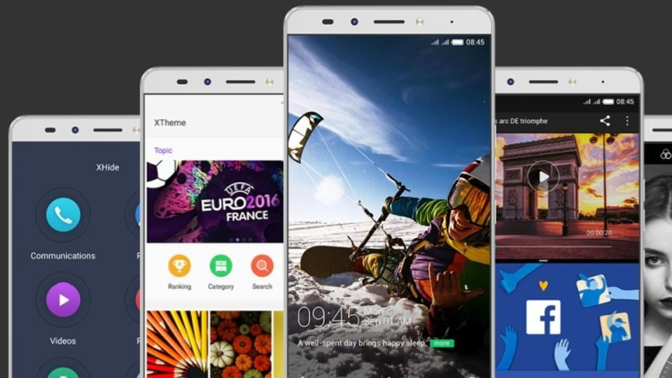 Apreview of Infinix's Chameleon OS.