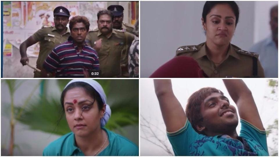 Naachiyar teaser:Jyothika and GVPrakash look impressive in director Bala's film.