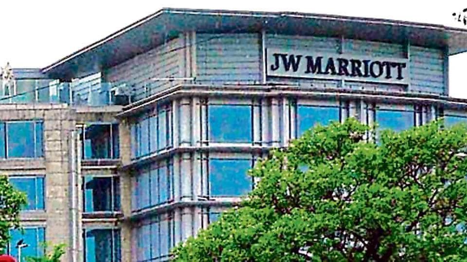 Hotel JW Harriot in Sector 35, Chandigarh.