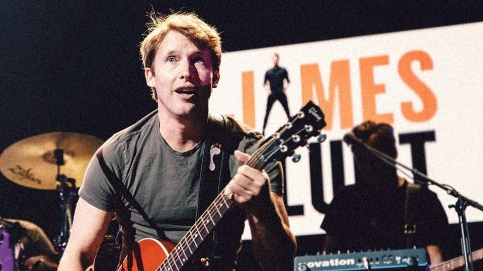Singer James Blunt to perform in India in April, 2018.