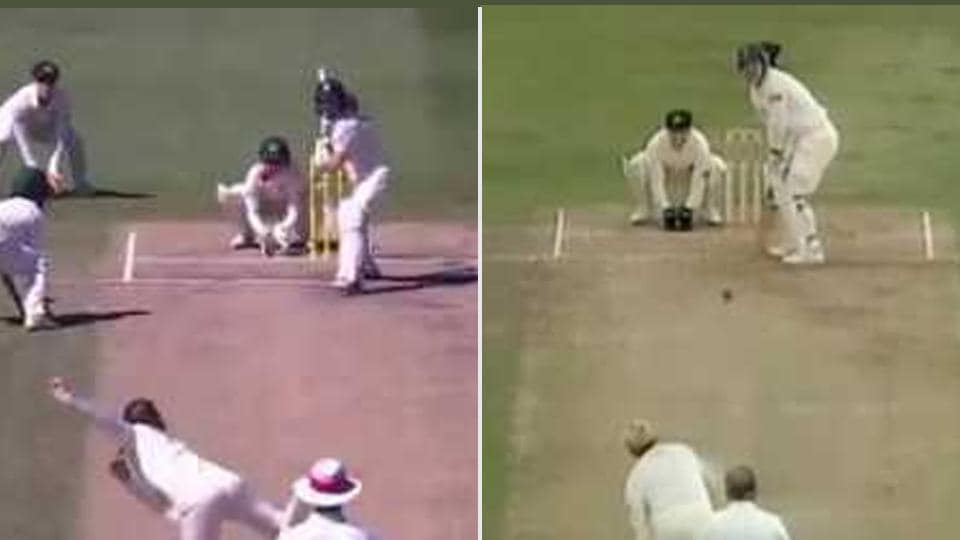 Amanda-Jane Wellington, the 20-year-old Australian legspinner, produced a similar delivery Shane Warne bowled in the 1993 Ashes which was dubbed the 'Ball of the century'.