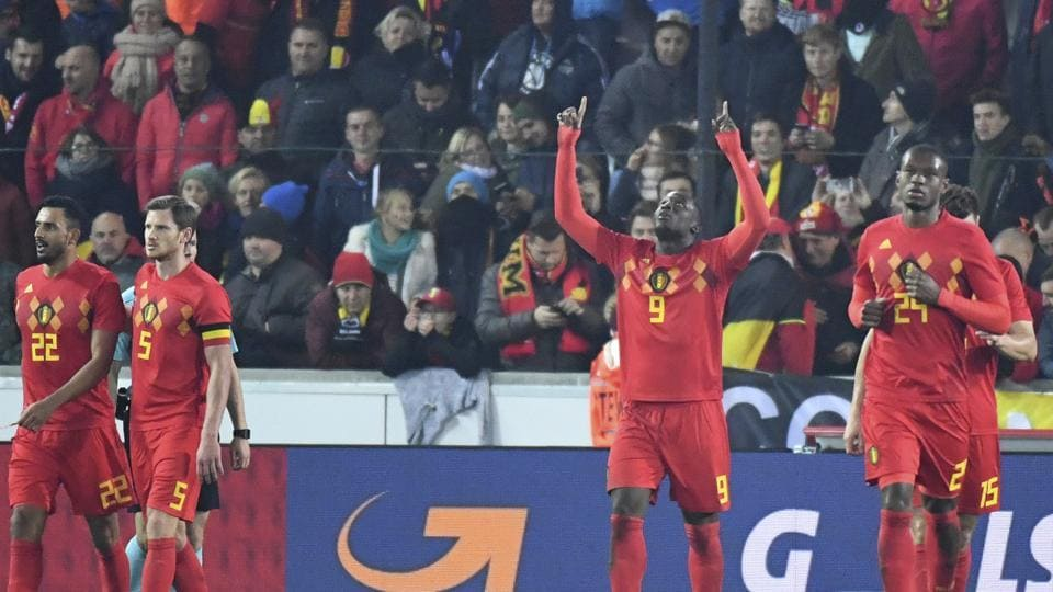 Belgian Romelu Lukaku scored the only goal in the football friendly against Japan and became his country's record goal scorer with 31 goals.