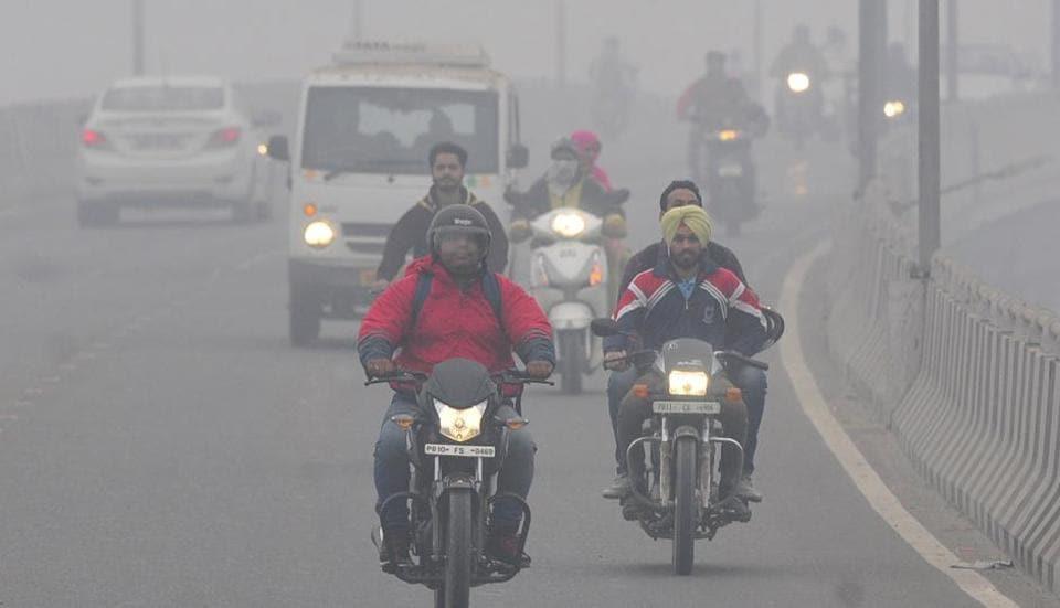 Punjab pollution,stubble burning,smog