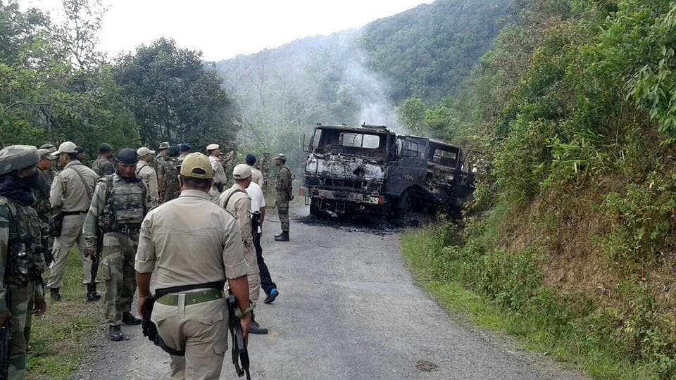 4 Assam Regiment,Militants,Militancy