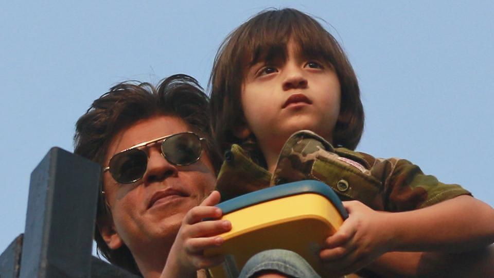 AbRam Khan,Shah Rukh Khan,Aryan Khan