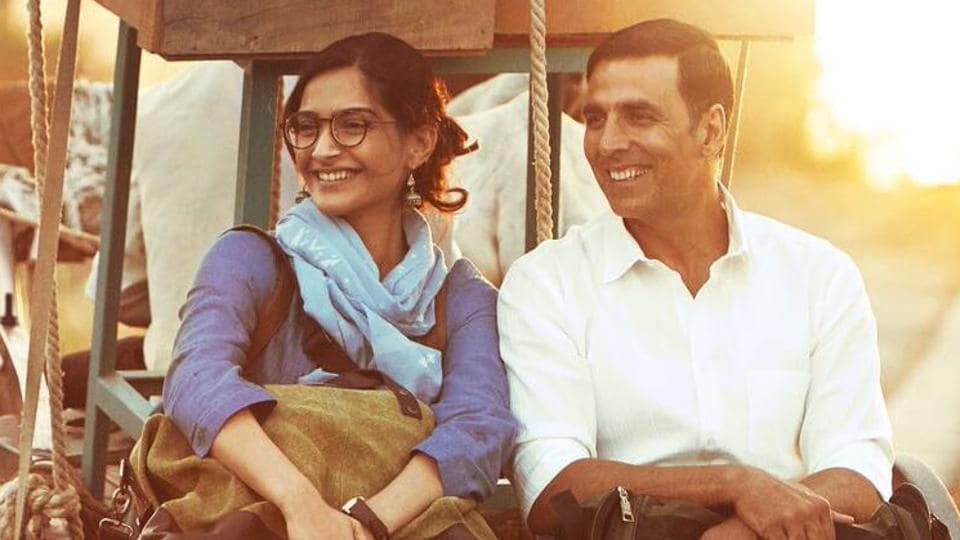 Sonam Kapoor and Akshay Kumar in the first look of Padman.
