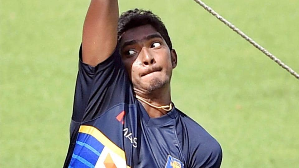 Lakshan Sandakan is one of the best upcoming Chinaman bowlers from Sri Lanka.  He even took a five-wicket haul against India in the Pallekele Test earlier this year.  (PTI)