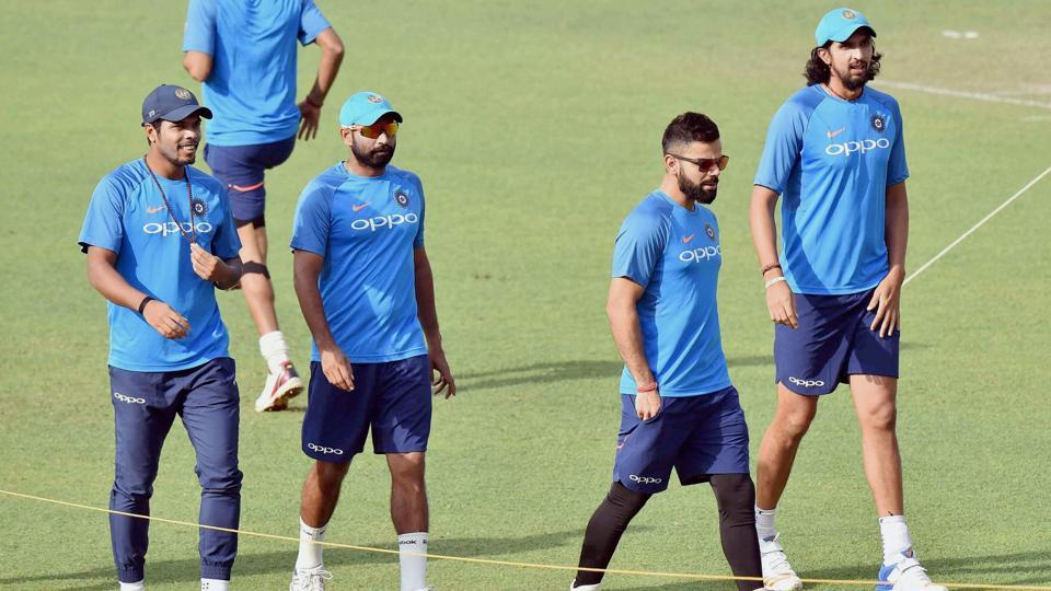 India held a lengthy practice session on Tuesday, days after winning both ODI and T20 series against New Zealand at home. (PTI)