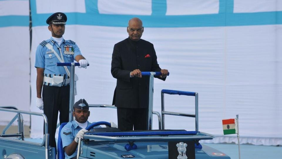 President of India,Ram Nath Kovind,IAF units