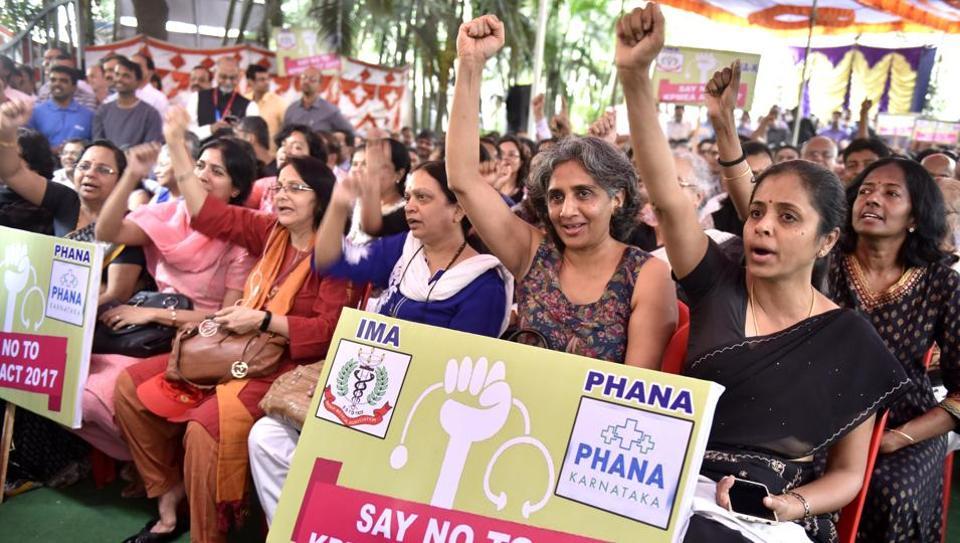 Karnataka doctor strike,Bengaluru,Private hospitals strike